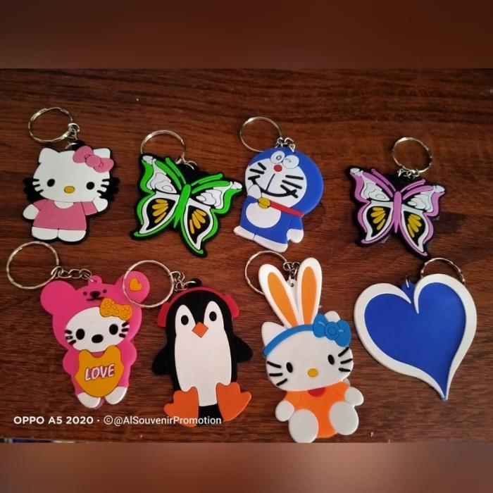 Foto Produk Gantungan kunci karet karakter murah dari Chatering bude