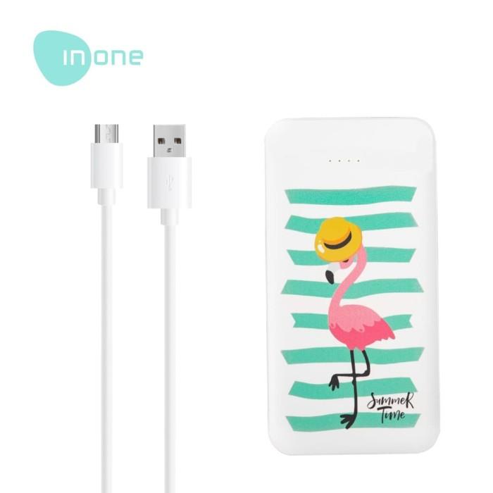 Foto Produk Inone Powerbank Z14 Cute Portable Charger 10000 mAh Fast Charging dari Inone Official Shop