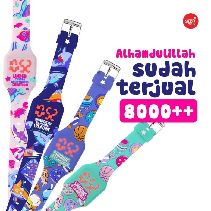 Foto Produk Afrakids Watch - Jam Tangan Digital - Jam Tangan Anak dari barakallahkids