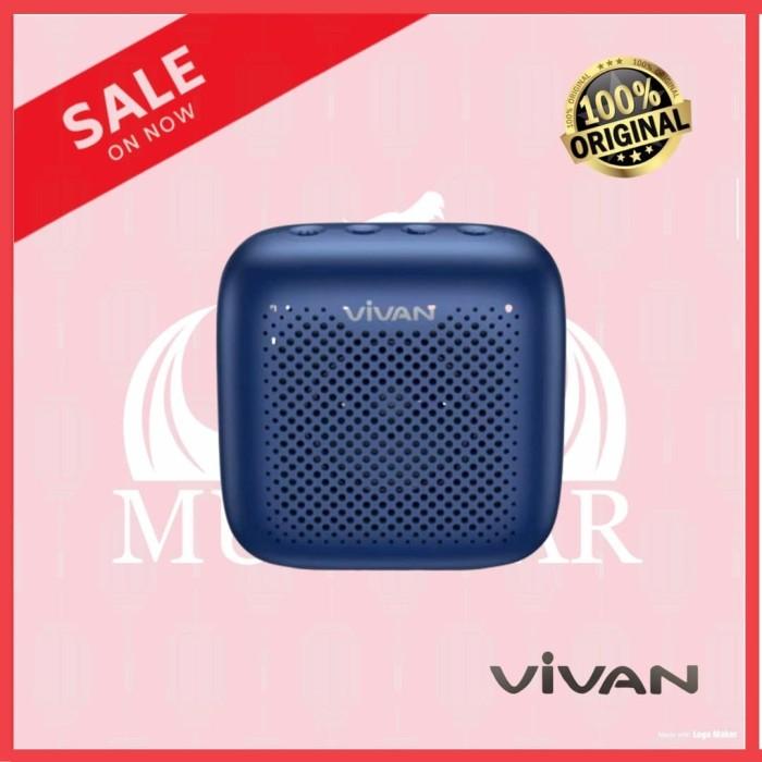Foto Produk [ORIGINAL] VIVAN S1 SPEAKER BLUETOOTH PORTABLE NGEBASS WATERPROOF dari MURAZAR