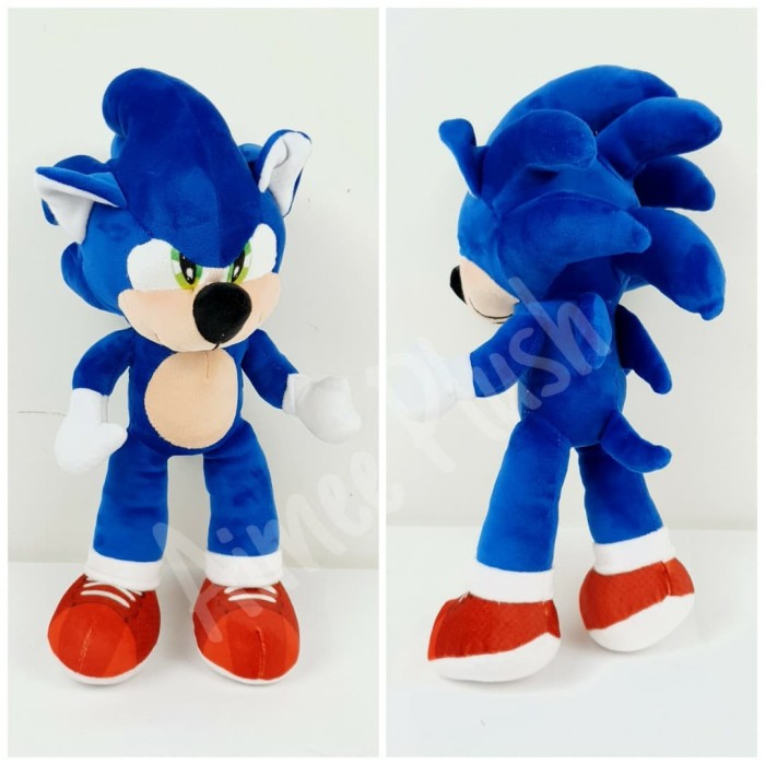Jual Boneka Sonic The Hedgehog 2020 Cute Lucu Paling Laris
