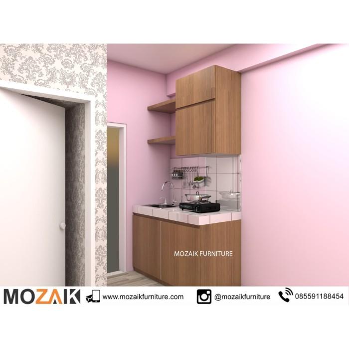 Jual Kitchen Set Untuk Ruangan Kecil Jakarta Timur Furnitur Bekasi Tokopedia