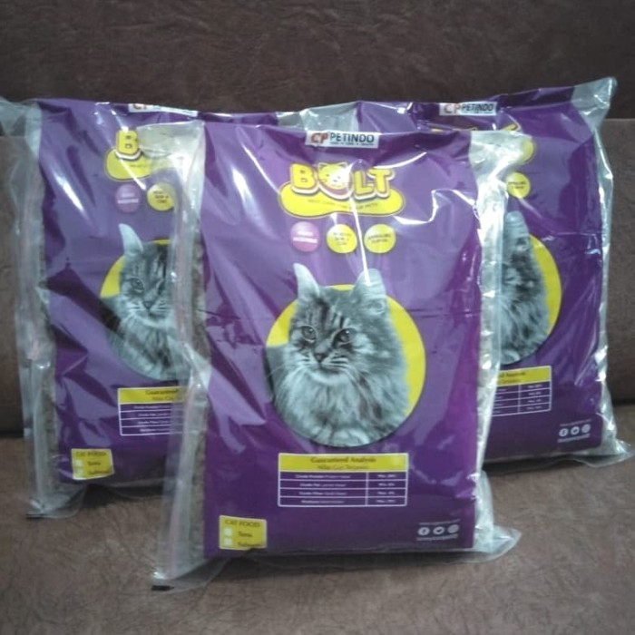 Jual Makanan Kucing Murah Bolt Untuk Jenis Kucing Persia Anggora Kampung Jakarta Utara Tiktok Petshop Tokopedia
