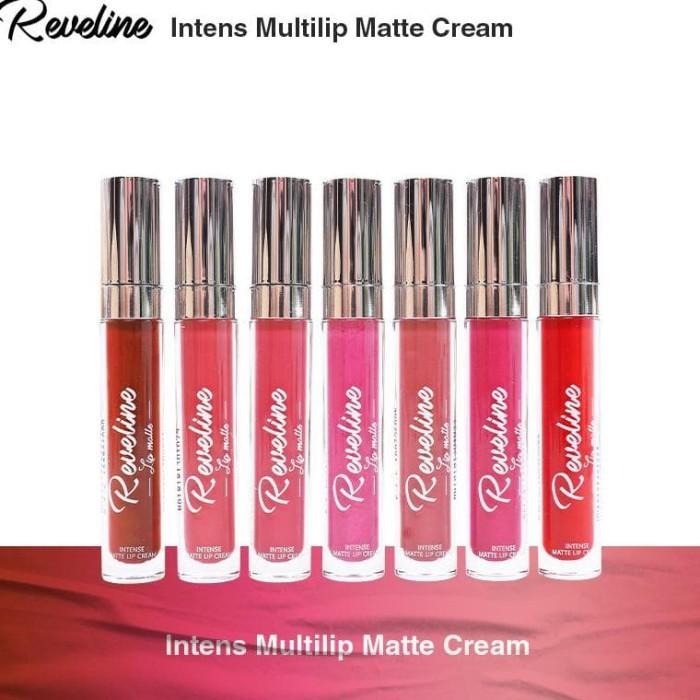 Reveline Intense Lip Matte Cream / Lipcream / Lipstick Cair
