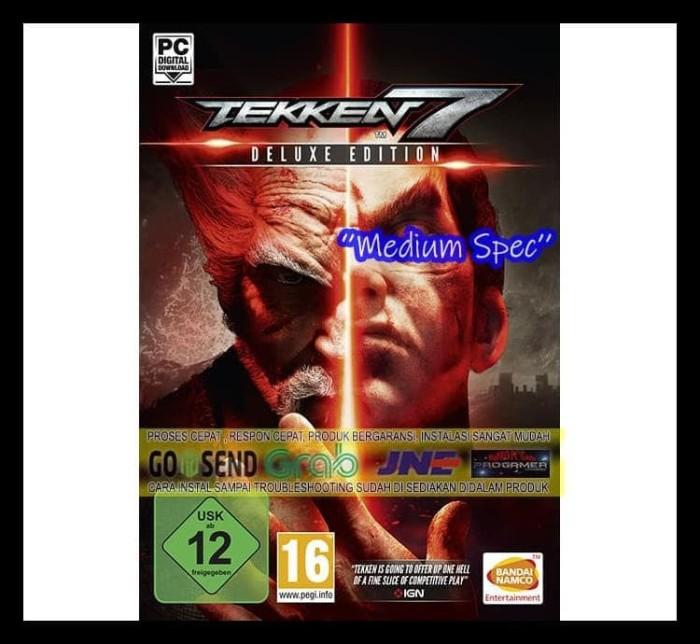 Jual Kualitas Nomer Satu Tekken 7 Deluxe Edition Cd Dvd Game Pc Gaming Pc Jakarta Barat Emastore3 Tokopedia