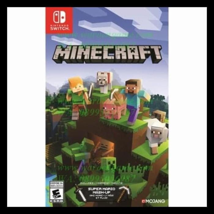 Jual Terbaik Nintendo Switch Minecraft Switch Edition Usa English Jakarta Barat Emastore3 Tokopedia