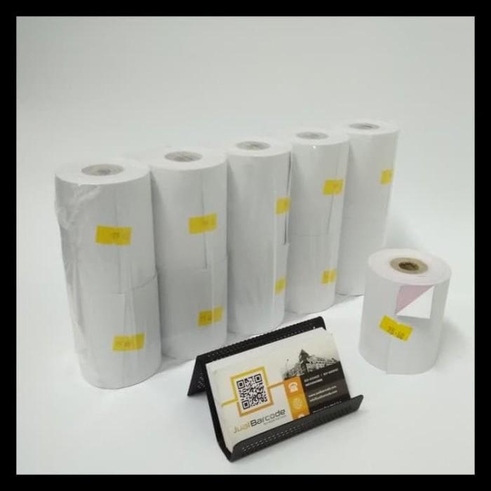 Foto Produk PROMO KERTAS STRUK KASIR 75 X 60 MM - 2PLY - RANGKAP 2 BEST SELLER dari jenistoree