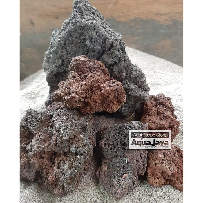 Jual Khusus Gojek Grab Batu Lavarock Lava Rock Stone hias ...