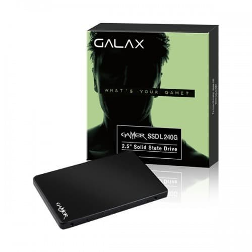 Foto Produk GALAX SSD Gamer L Series 240GB (R:560MB/S W:500 MB/s) dari iT  Solution