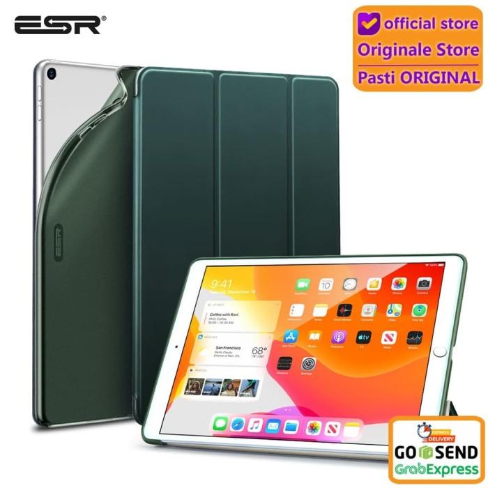 "Foto Produk Case iPad 7 10.2"" 2019 ESR Rebound Slim Smart Case - Silver dari Originale Store"
