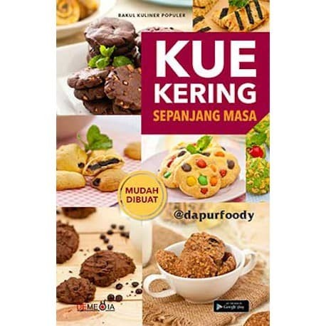 Foto Produk Kue Kering Sepanjang Masa - Dapur Foody - Demedia Pustaka dari Toko Kutu Buku