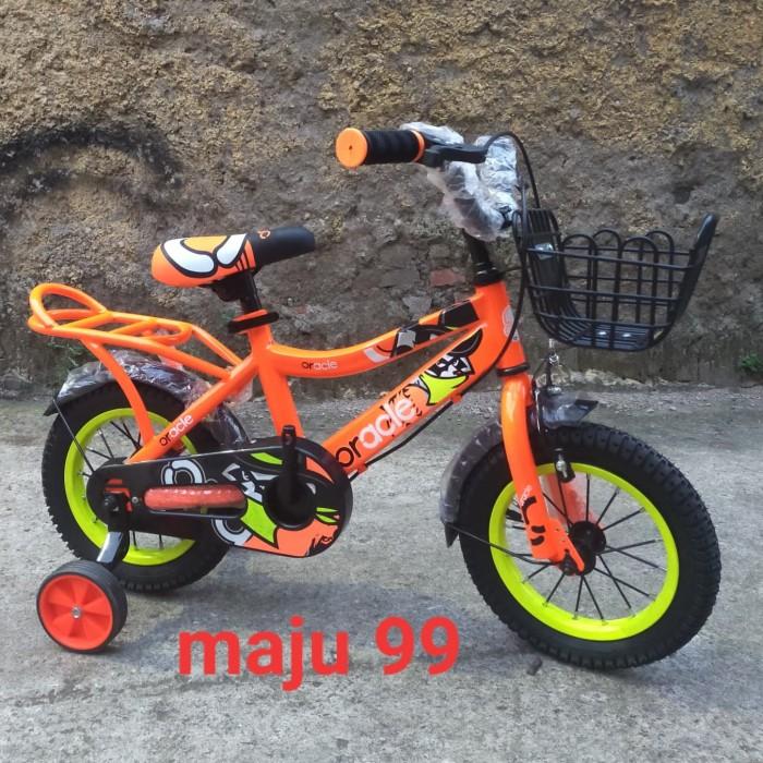 Foto Produk sepeda bmx oracle by united buat 2-5thn 12 inchi dari maju 99