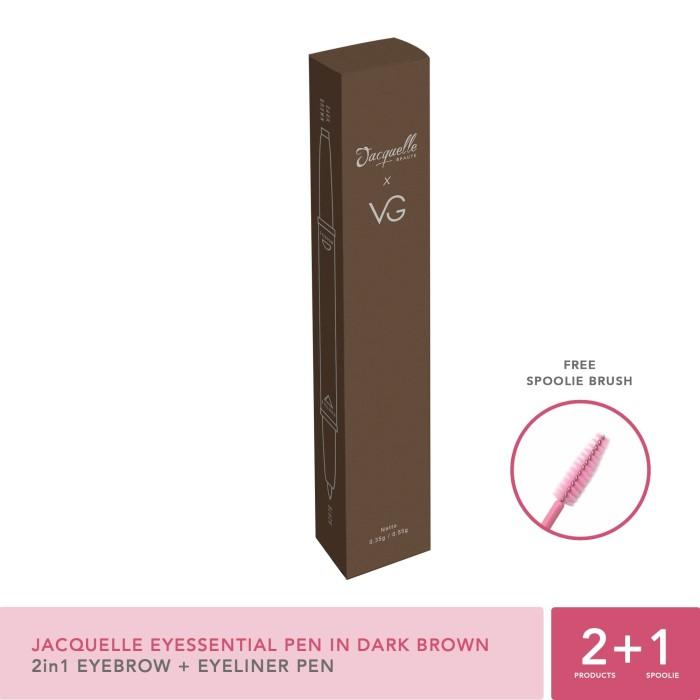 Jacquelle Eyessential Pen X Vinna Gracia In Dark Brown