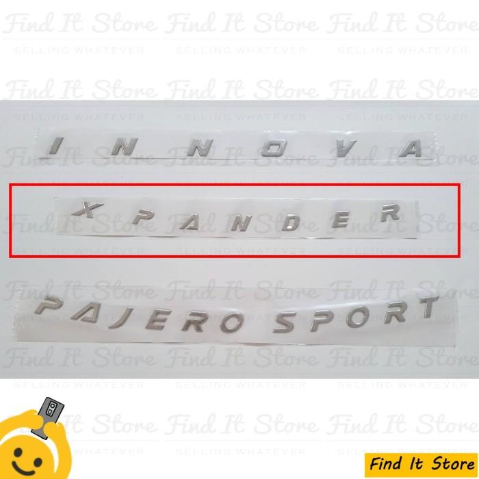 Jual Engine Hood Emblem Xpander Expander 3D Logo Tulisan