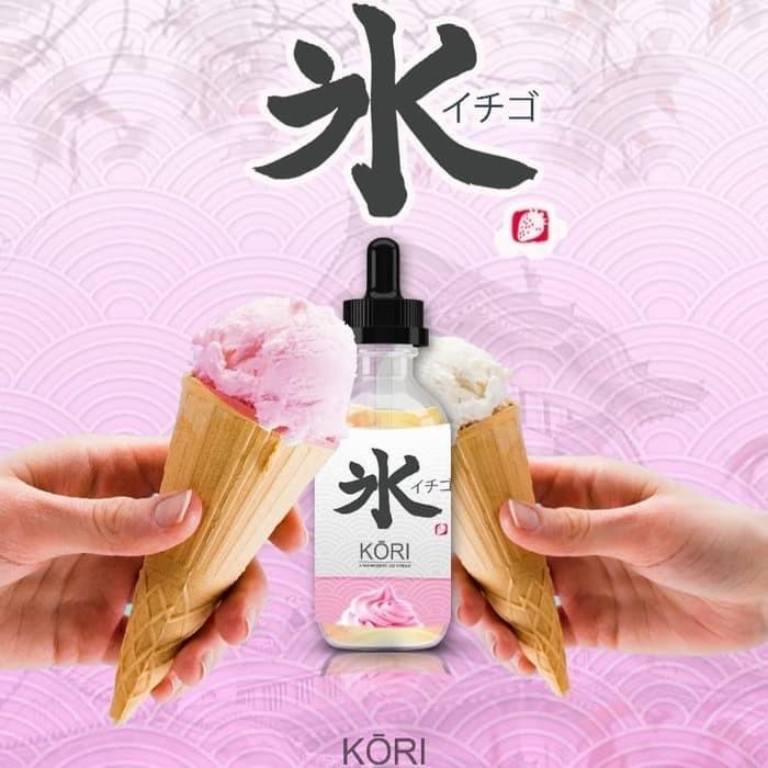 Foto Produk Kori Strawberry Ice Cream 60ML by Lxxy x JRX Brew 3MG&6MG dari KLAVA