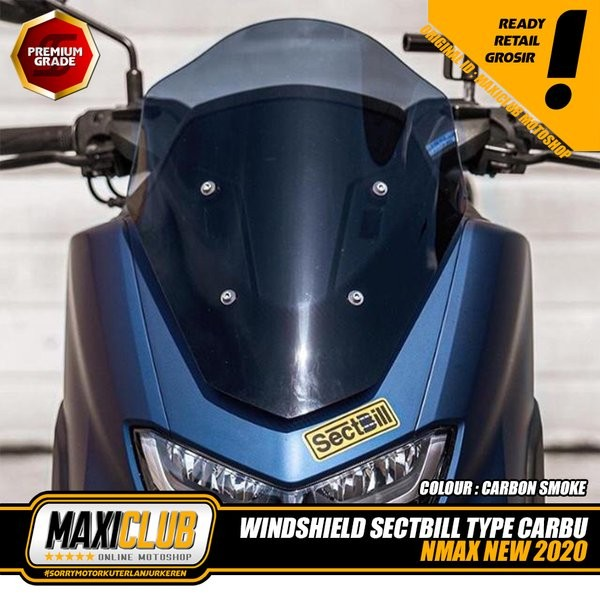Jual Windshield Yamaha NMAX 2020 Visor All New NMAX Flay Screen Windshield  - Kota Surabaya - rosmala1122 | Tokopedia