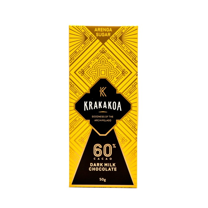 Foto Produk Arenga 60% Dark Milk Chocolate dari Krakakoa Official