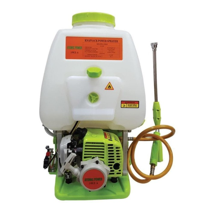 Foto Produk Knapsack Sprayer Atomic Power 2-Tak Semprot hama dari Surya Teknik Padang