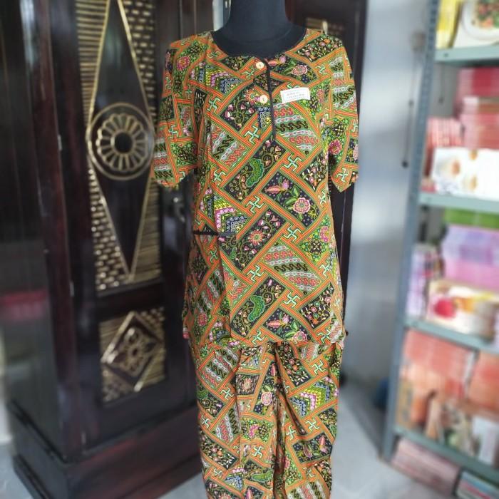 Foto Produk Setelan Celana Panjang Lengan Pendek KU Kencana Ungu Label Hijau dari Sabwe OnlineShop