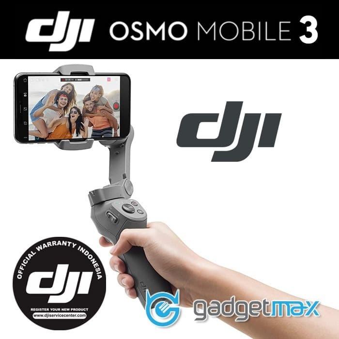 Foto Produk DJI Osmo Mobile 3 Gimbal - Garansi Resmi dji dari Gadgetmax.net
