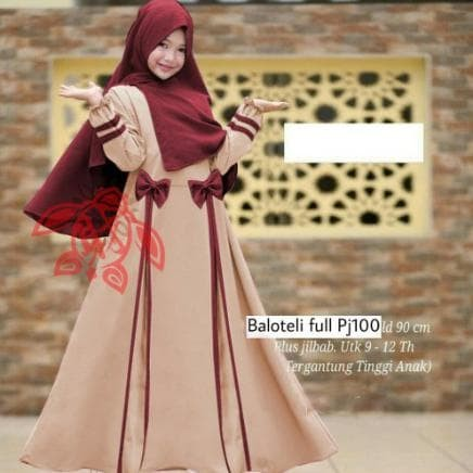 Jual Syar I Anak Muslim Fashion Muslim Terbaru Lebaran 2020 Baju Gamis Anak Kab Kebumen Whitemarket 06store Tokopedia