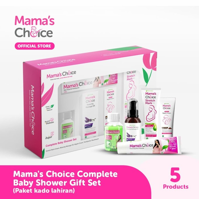Foto Produk Mama's Choice Complete Baby Shower Gift Set (Paket kado lahiran) dari MamasChoiceID