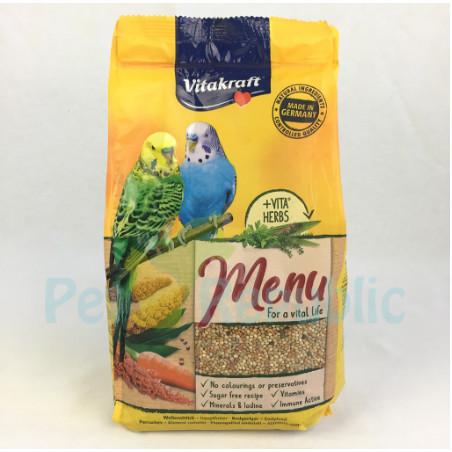 Jual Vitakraft Makanan Burung Parkit Menu Budgies 1kg Jakarta Barat Andri Wiyantoshops Tokopedia