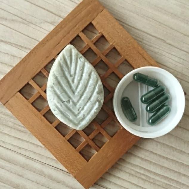 Foto Produk GREEN PASS CLEANSING BAR - Sabun Wajah Spirulina dari LUVU NATURAL