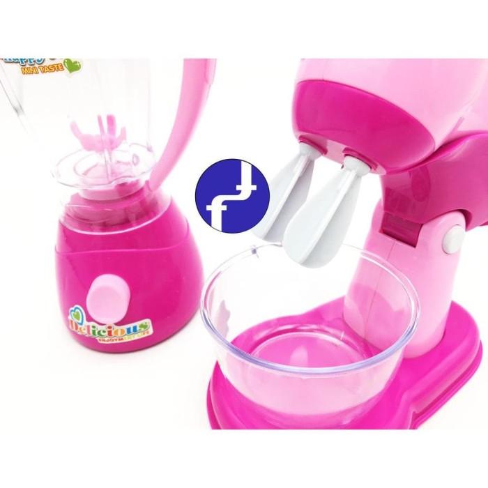 Jual Mainan Anak Blender Dan Mixer Baterai Set My Kitchen Appliances Ls8250 Jakarta Barat Oktavia Baby S Tokopedia