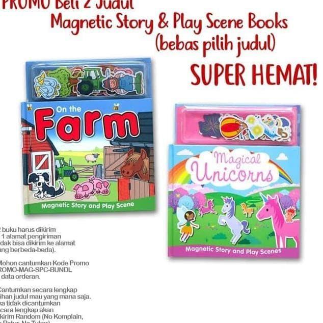 Jual Diskon Hari Ini Promo Special Price Beli 2 Judul Magnetic Play Books Jakarta Timur Danielashopppp Tokopedia