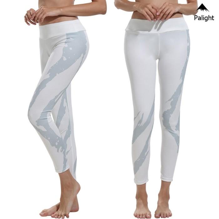 Jual Celana Legging Panjang Wanita Motif Print Warna Putih Untuk Yoga Jakarta Selatan Barokahmaju1 Tokopedia