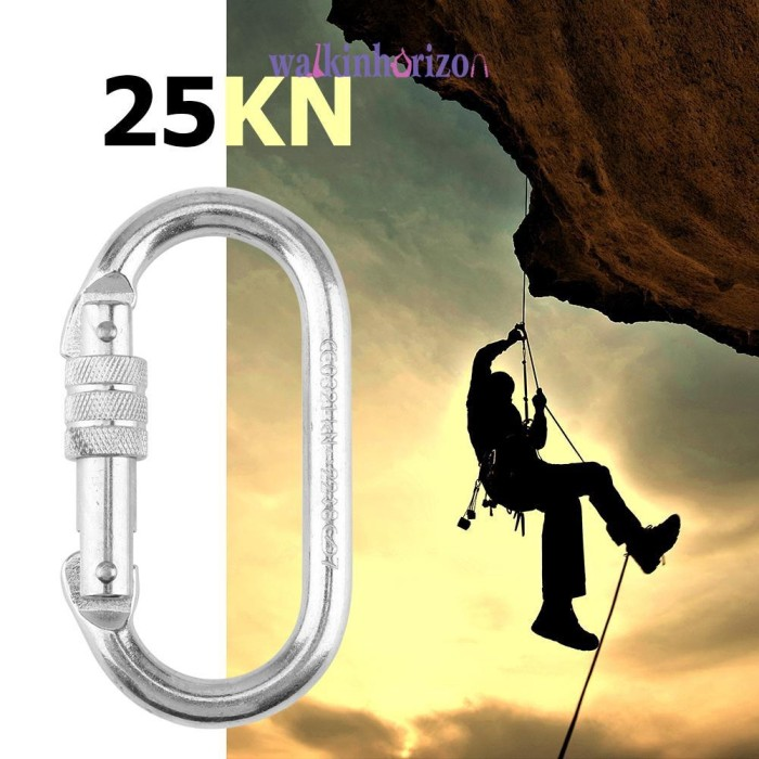 Jual Wa Buckle Carabiner 25kn Untuk Safety Rock Climbing Rock Climbing Jakarta Selatan Barokahmaju1 Tokopedia