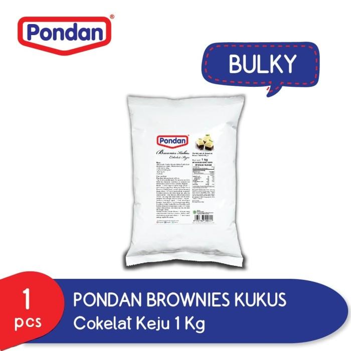 Foto Produk Pondan brownies kukus cokelat & keju (bulky) dari Pondan Food