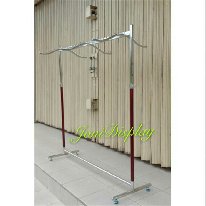 Foto Produk Gawang Buju Palang Kotak 120cm dari jonidisplay