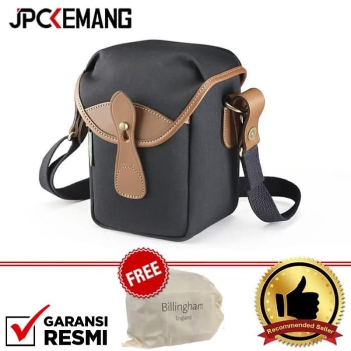 Foto Produk Billingham 72 Small Camera Bag (Black Canvas/Tan Leather) dari JPCKemang