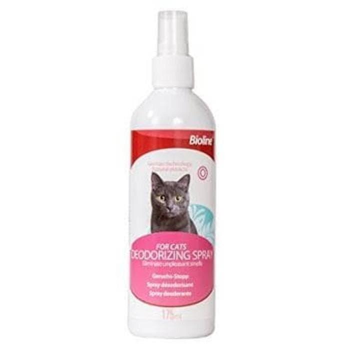 Foto Produk Bioline Deodorizing Spray For Cat 175ml - Penghilang bau kucing dari cring_cring