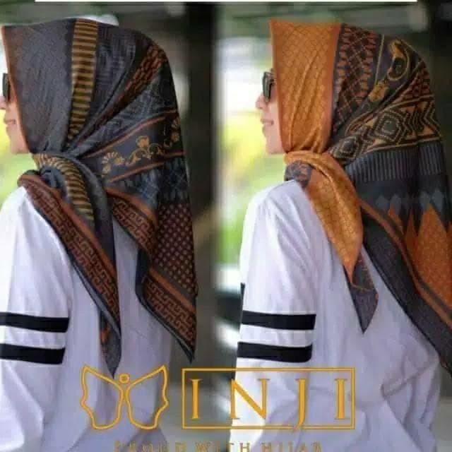 Jual Kerudung Deenay Kw Terbaru 2019 Motif Inji Batik Voal Scarf Kota Bandung Karimake Hijab Tokopedia