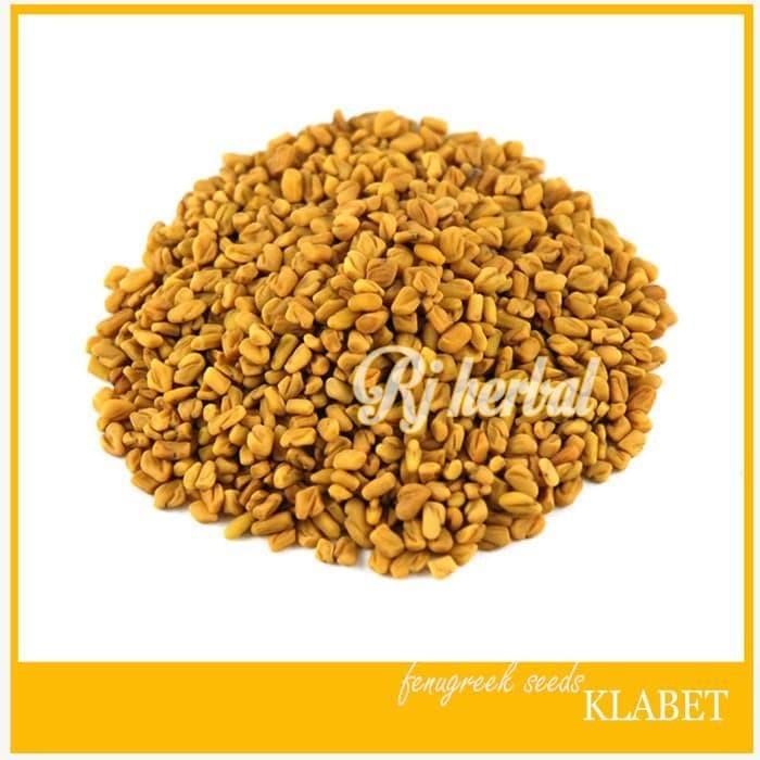 Foto Produk Big Seller!! 500 Gram Biji Klabet / Fenugreek Seeds - Pelancar Asi dari yayu_kmulyani-1 shopp