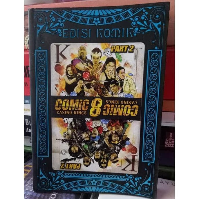 Jual Hja Original Bekas Mulus Buku Comic 8 Casino Kings Part 2 Edisi Jakarta Timur Ohang Store S Tokopedia