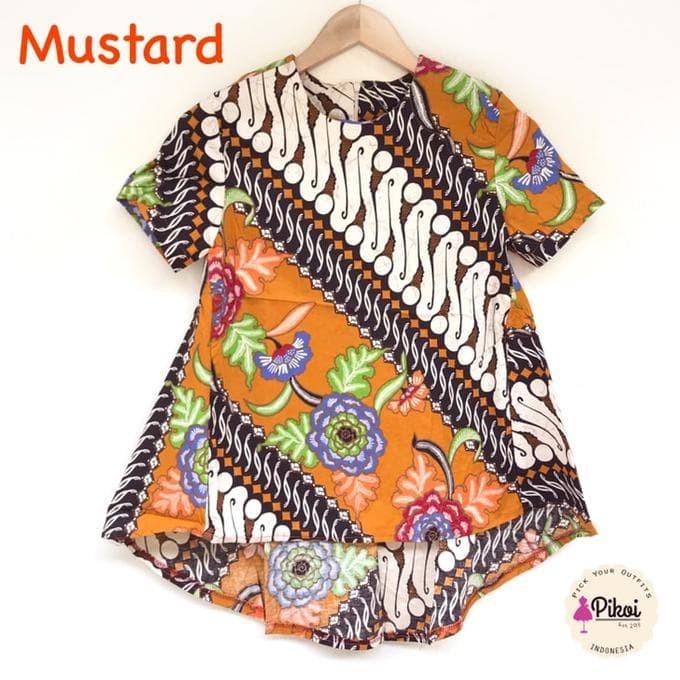 Foto Baju Batik Anak Modern Jual Baju Batik Modern Atasan Wanita Batik Murah Batik Anak