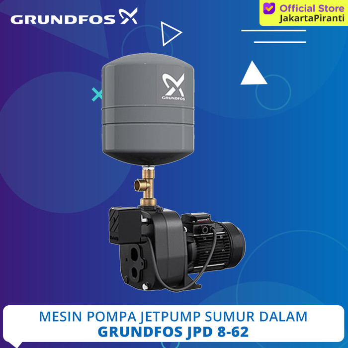 Jual Mesin Pompa Air Sumur Dalam Jetpump Grundfos JPD 8-62 ...