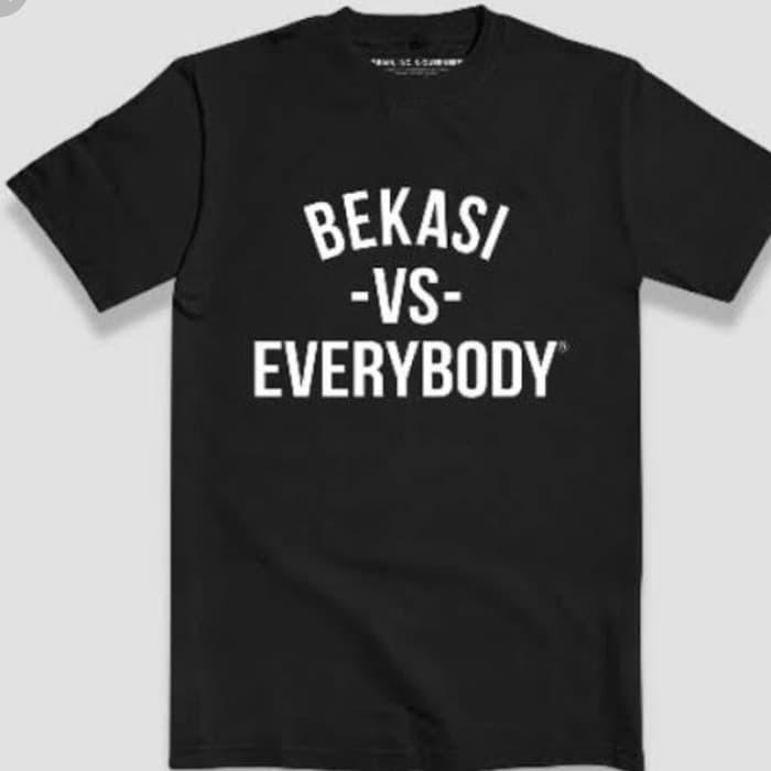 Jual Kaos Baju Obral Combed 30 Distro Bekasi Vs Everybody Murah Tshirt Kota Bekasi Spring Pocket Rolled Tokopedia