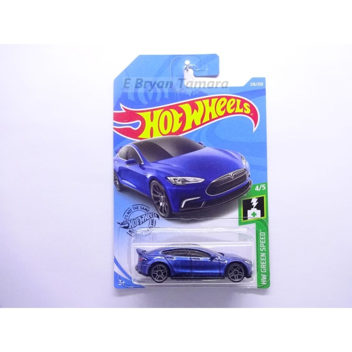 Jual Hot Wheels Tesla Model S Biru Kota Surabaya Bryan Toys Shop Tokopedia