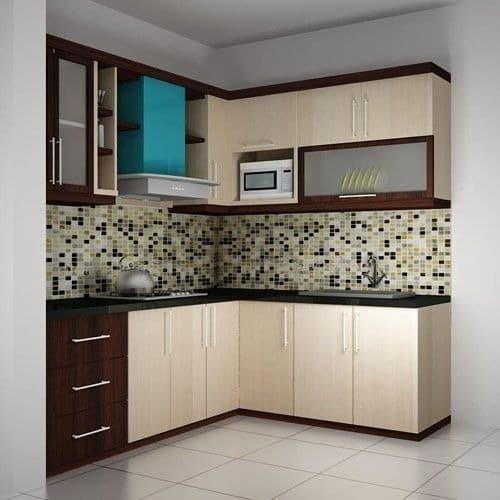 Jual Kitchen Set Minimalis Bahan Miltiplek Hpl Jakarta Timur Furnitur Interior Bekasi Tokopedia