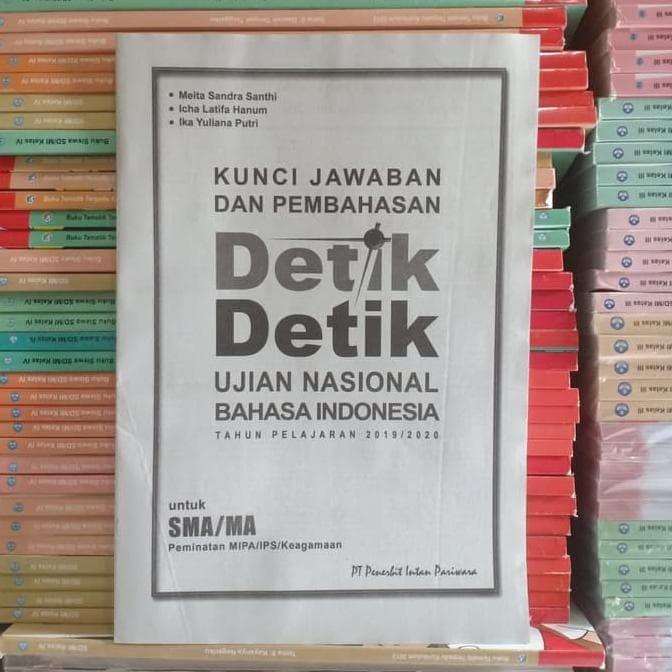 Jual Terbaru Buku Detik Detik Un Bahasa Indonesia 2020 Sma Intan Pariwara Jakarta Barat Fakhra Azizah Tokopedia