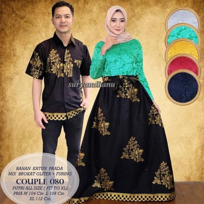 Jual Baju Couple Muslim Wanita Gamis Pasangan Keluarga Pria Maxi Dress Baru Jakarta Barat Fahrisunandar Tokopedia