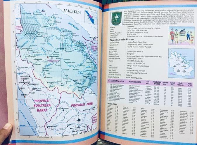 Jual Buku Atlas Lengkap 34 Provinsi Indonesia Buku Peta Global Jakarta Barat Samudra567 Tokopedia