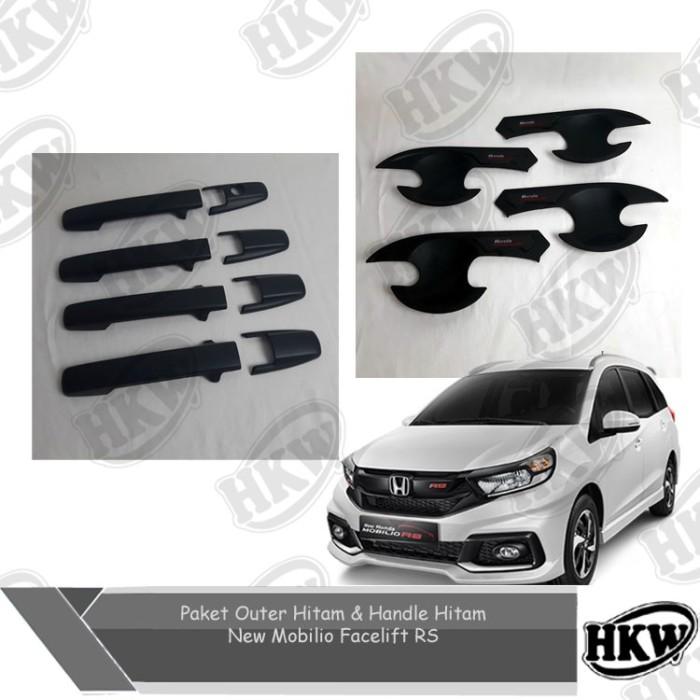 Foto Produk Paket Outer Dan Handle Cover Hitam Mobilio Facelift Rs dari HKW Variasi Mobil