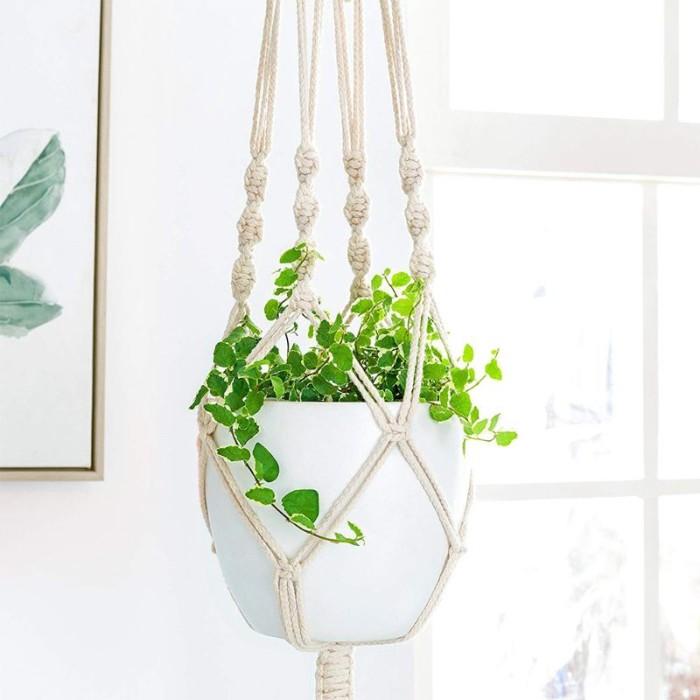 Jual Plant Hangers Indoor Wall Hanging Planter Basket Flower Pot Holder Jakarta Barat Memelstore Tokopedia