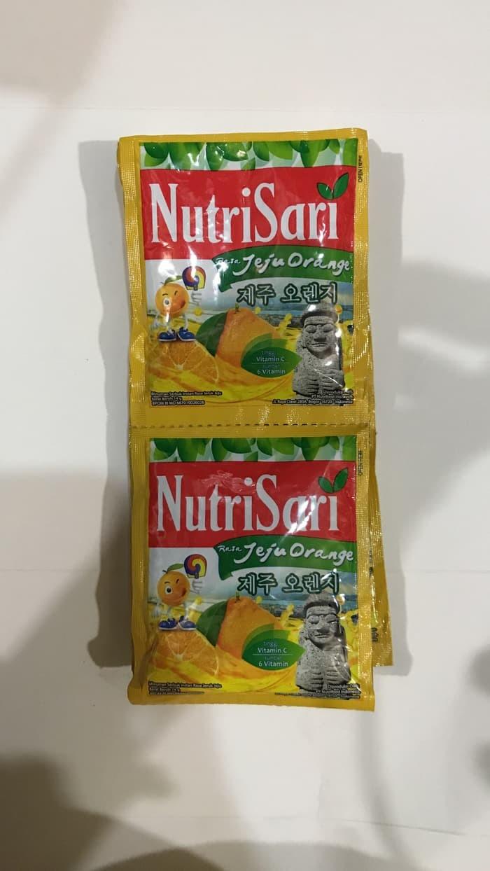 Jual Nutrisari Jeju Orange Jeruk 1 Renceng 10 Sachet Sashet Pcs Pak Jakarta Pusat Toko Makanan 19